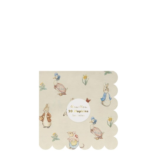 Peter Rabbit & Friends Small Napkin