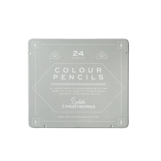 Printworks 24 Colour Pencils Classic