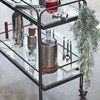 West Elm Fulton Bar Cart - bronze