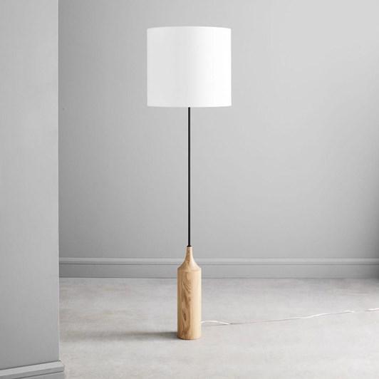 West Elm Hudson Wood Base Floor Lamp