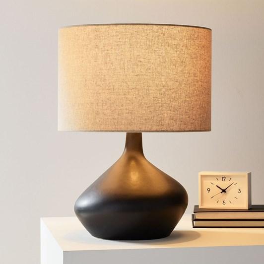 West Elm Asymmetry Ceramic Table Lamp 48Cm
