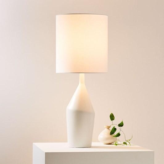 West Elm Asymmetry Ceramic Table Lamp 77Cm