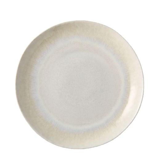 West Elm Reactive Glaze Dinner Plate White