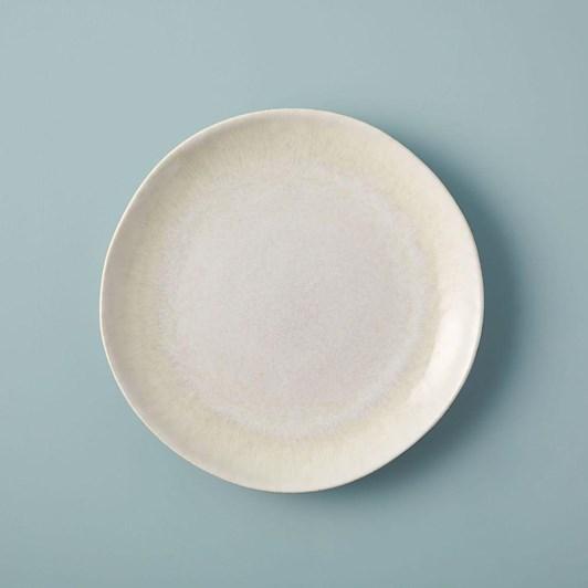 West Elm Reactive Glaze Salad Plate White