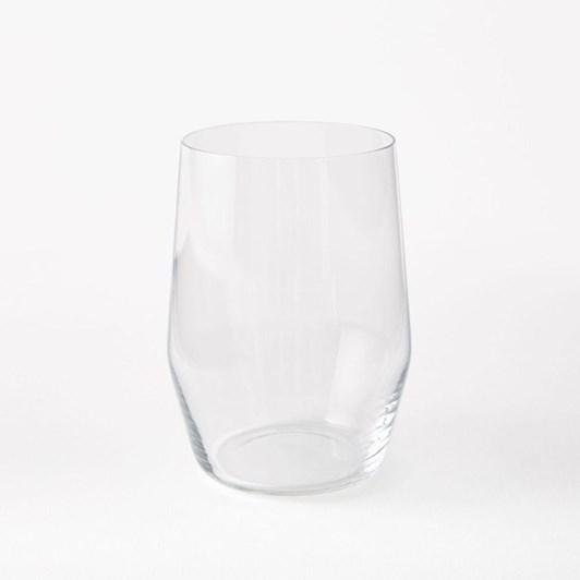 West Elm Oblique Stemless Wine Glass