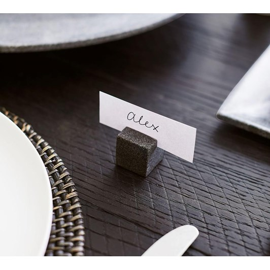 Pottery Barn Marble Place Card Holder Set Of 4