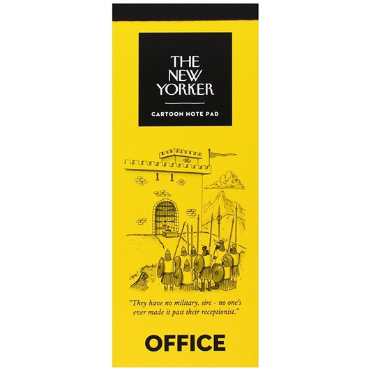 New Yorker Office Notepad
