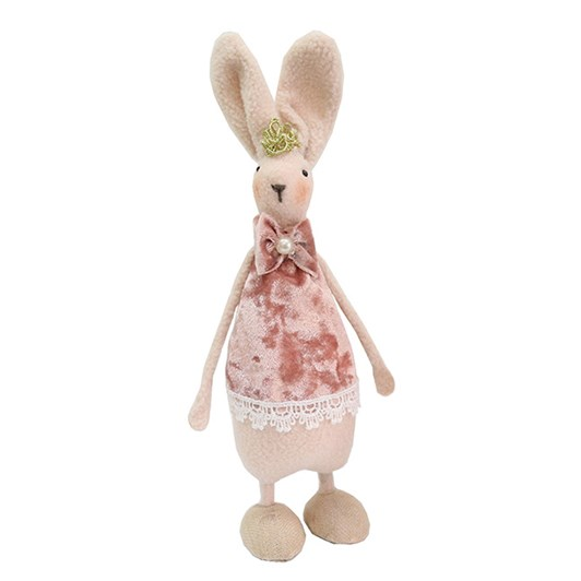 Standing Pink Easter Bunnie Medium