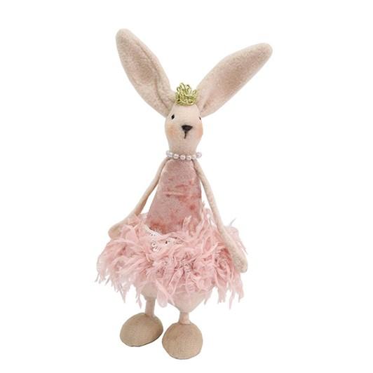 Standing Pink Easter Bunnie Medium