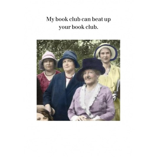 My Book Club Card