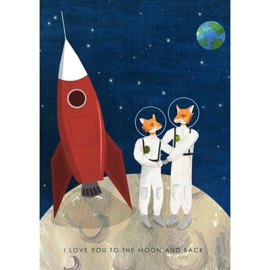 Vevoke Card Fox Space