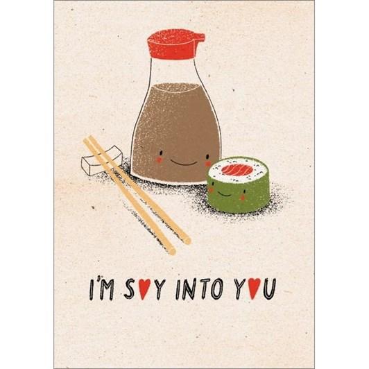 Vevoke Card I'm Soy Into You