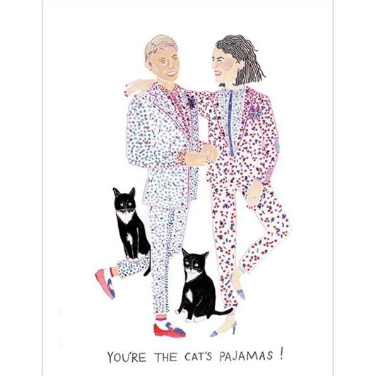 Vevoke Card Cats Pajamas