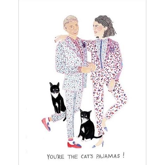 Vevoke Card Cats Pajamas