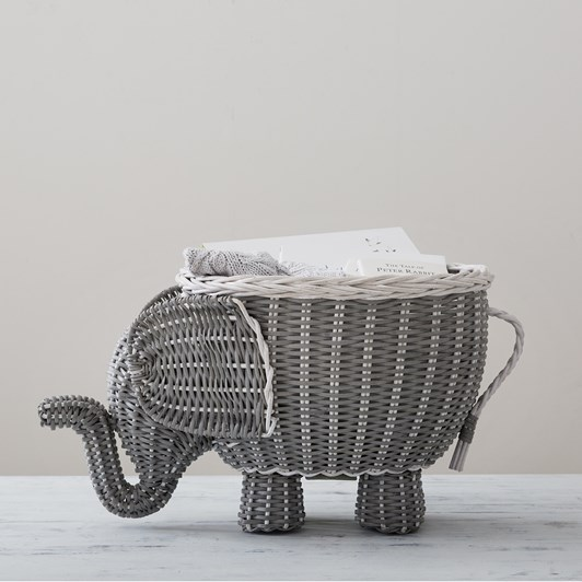 Pottery Barn Kids Elephant Shaped Storage