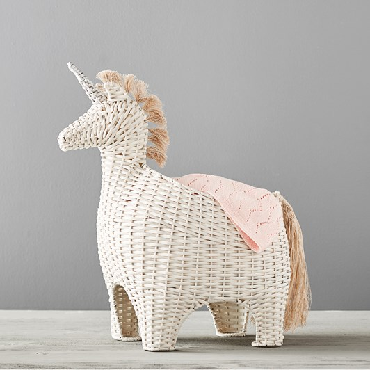 Pottery Barn Kids Unicorn Shaped Storage