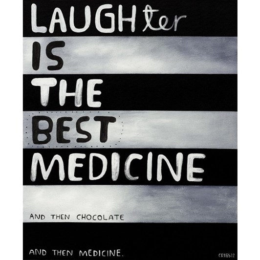 Tony Cribb The Best Medicine Notecard