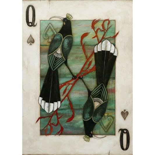 Kathryn Furniss Huia Queen Notecard
