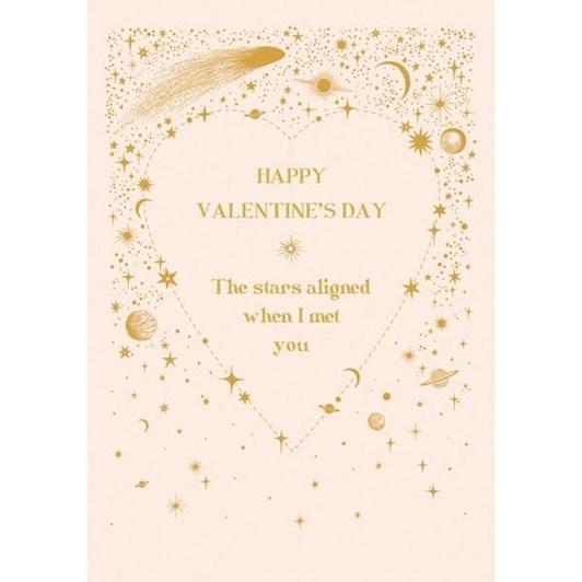 Valentine's Infinity & Beyond Aligned Card
