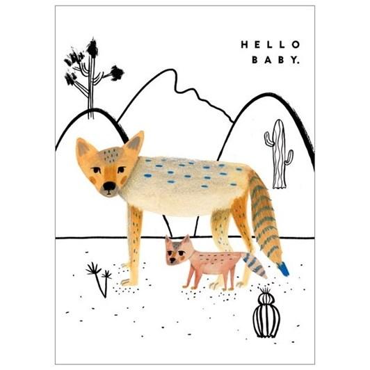 Vevoke Card Coyote Love