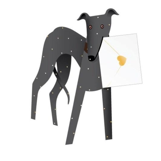 Vevoke Card Dog Shadow