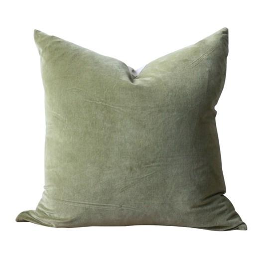 CC Interiors Forest Green Velvet Cushion 50x50cm