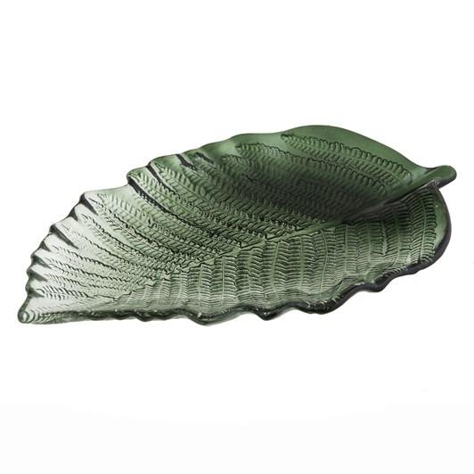 Fern Plate 35x20x2.5cm