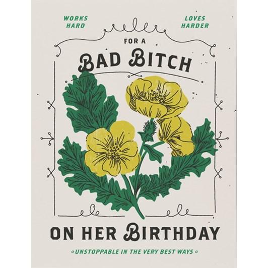 Bad Bitch Card