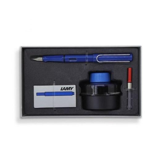 Lamy Fountain Pen Gift Set E193 - Blue