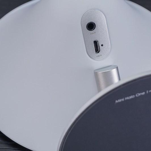 Gingko Mini Halo One Bluetooth Speaker White