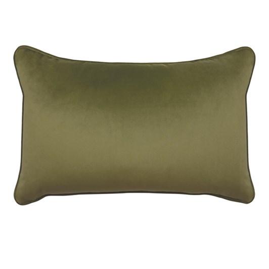 Madras Mira Leaf Velvet Cushion 30x50cm