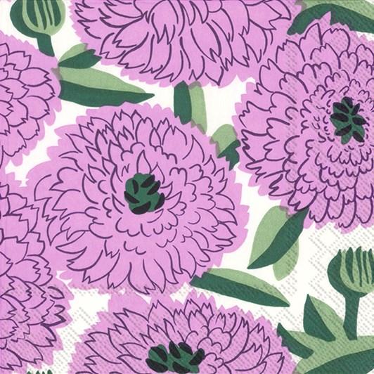 IHR Luncheon Napkin MM Primavera Lilac