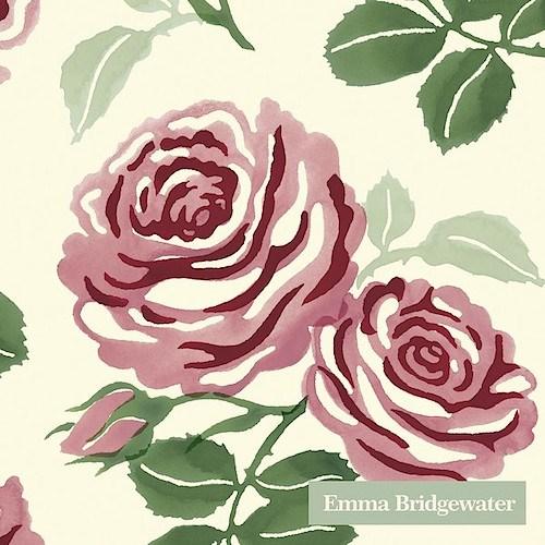 IHR Cocktail Napkin Pink Roses E.B.