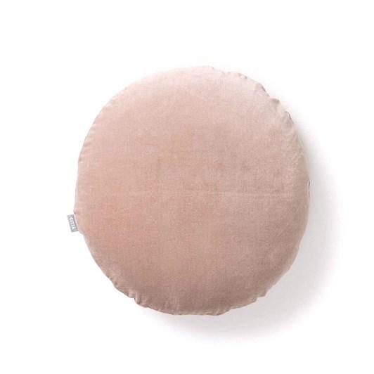 Citta Cotton Velvet Round Cushion Cover Scoria Tint 45Cmdia