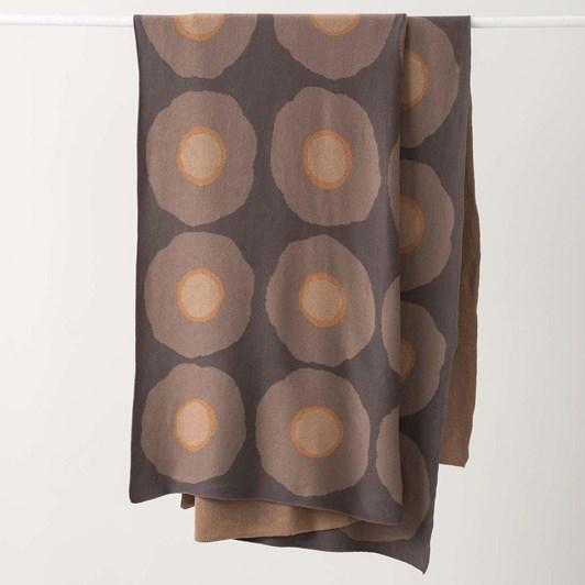 Citta Sunflower Cotton Knit Throw Multi 150X180Cm