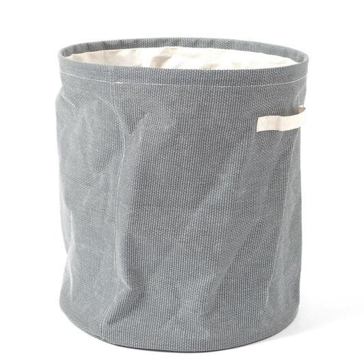 Citta Round Laundry Basket Dark Grey 45.7Cmdiax50.8Cmh