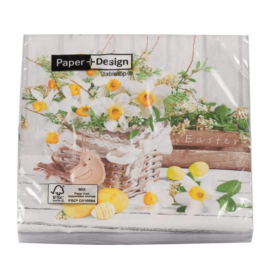 Blooming Easter Luncheon Napkin