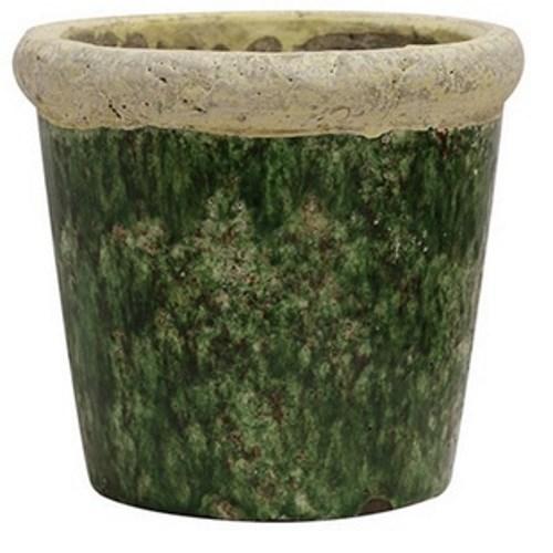 CC Interiors Tuscan Style Stone Green Planter 185x175