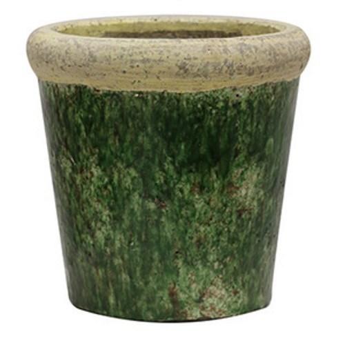 CC Interiors Tuscan Style Stone Green Planter 210x210