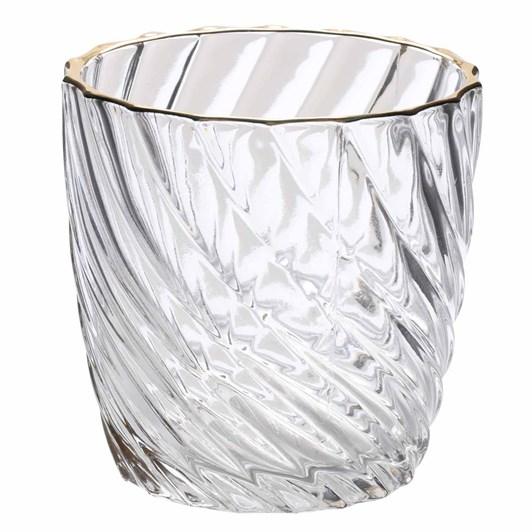 Schlittler Hurricane Glass Round Candle Holder