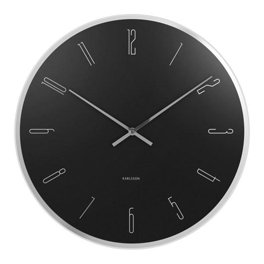 Karlsson Wall Clock Mirror Numbers