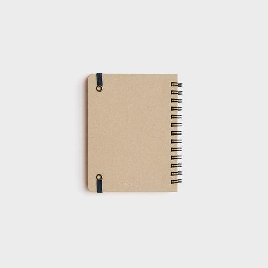 Rollbahn Notebook Grid Medium Blue