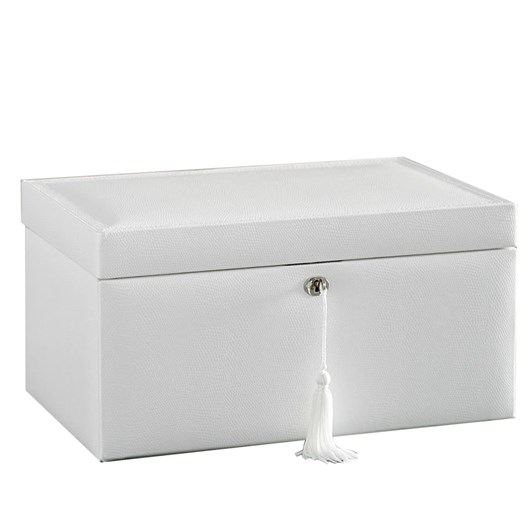 Pottery Barn Mckenna White Large Box