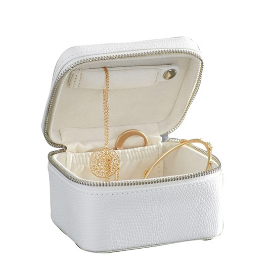 Pottery Barn Mckenna Jewellery Travel Case Small White