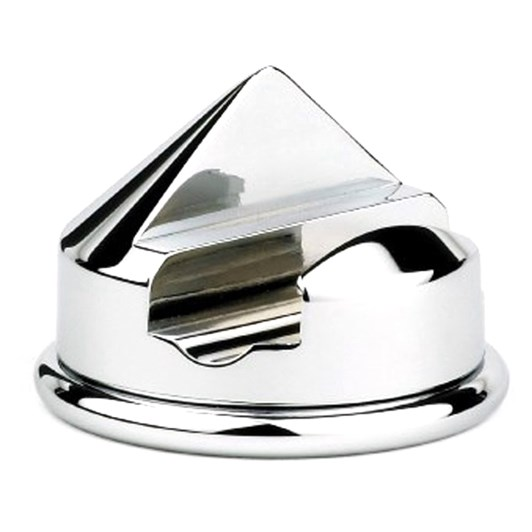 Edwin Jagger Chrome Plated Stand - Traditional Cone Razor Stand - Chrome