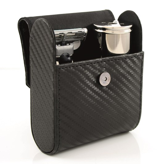 Edwin Jagger Travel Shaving Kit With Gillette® Mach3® Travel Razor