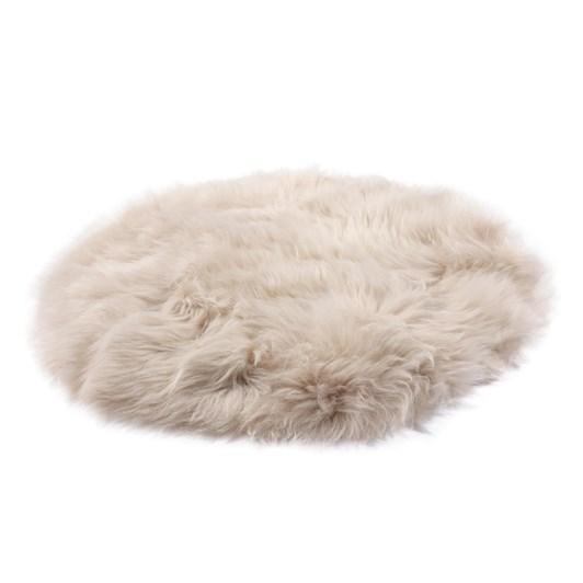 Fibre By Auskin Longwool Standard Plate Circle Cushion 37cm