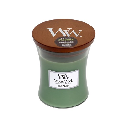 WoodWick Hemp & Ivy Medium