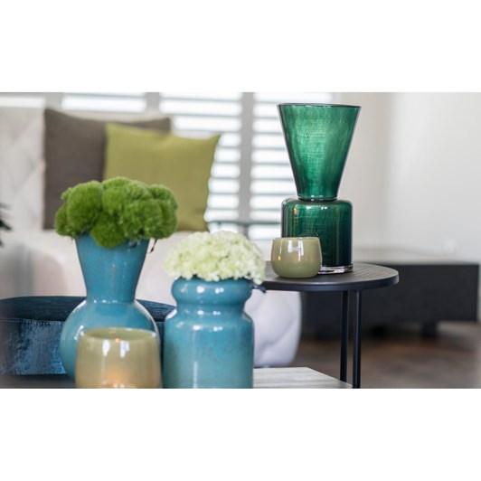 Dutz Dark Green Vase 38cm
