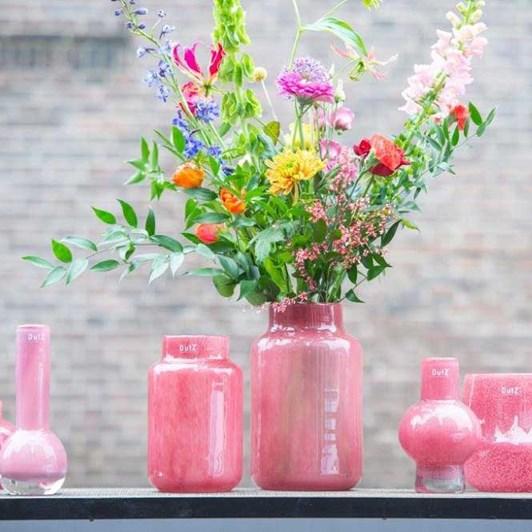 Dutz Cranberry Vase 30cm